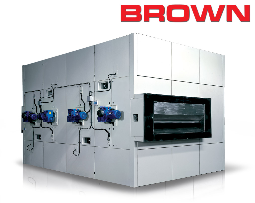 BROWN - Suction Drum Dryers